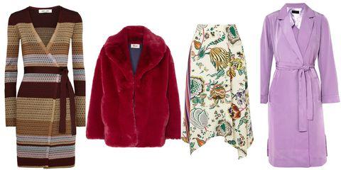 Clothing, Outerwear, Magenta, Jacket, Sleeve, Sweater, Coat, Overcoat, Cardigan, Robe,