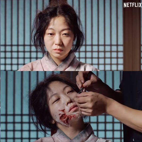 Netflix公開《屍戰朝鮮》喪屍上妝過程!特殊妝打造歷時3小時、連手臂血管細節都不放過