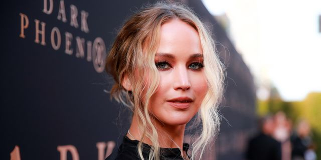 """hollywood, california   june 04 jennifer lawrence attends the premiere of 20th century fox's """"dark phoenix"""" at tcl chinese theatre on june 04, 2019 in hollywood, california photo by rich furygetty images"""