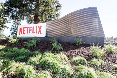 hollywood, ca   april 20 in this handout photo provided by netflix, is a view of netflix's headquarters located in los gatos on april 20, 2020 in los gatos, california  photo by netflix via getty images