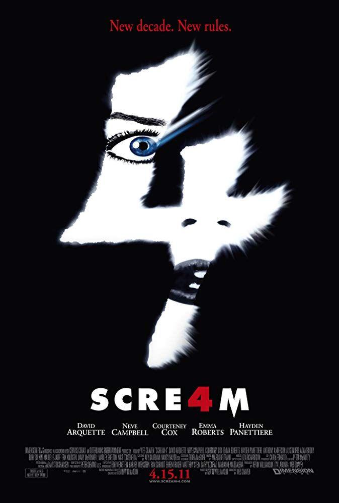 halloween movies on netflix scream 4