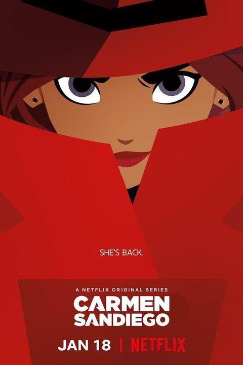 Netflix Kids Shows Carmen Sandiego