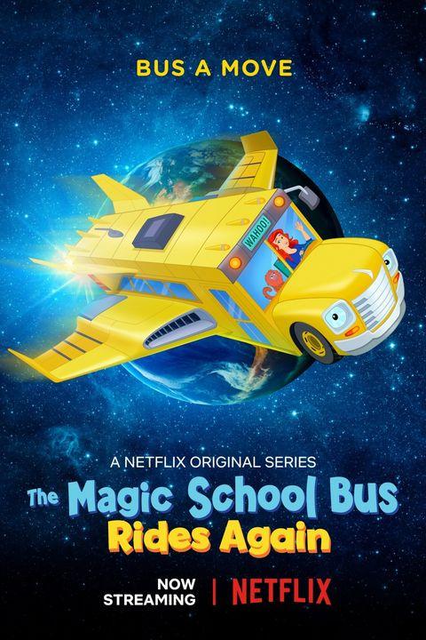 Netflix Kids Shows Magic School Bus Rides Again