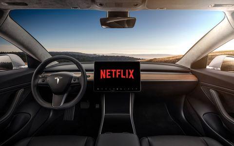 In-Car Netflix? Elon Musk's Driverless Tesla Is Getting Way Ahead Of