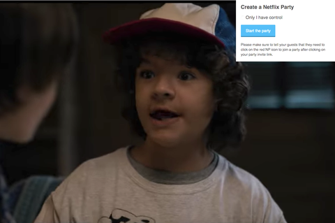 netflix party movie nights social distancing chrome extension