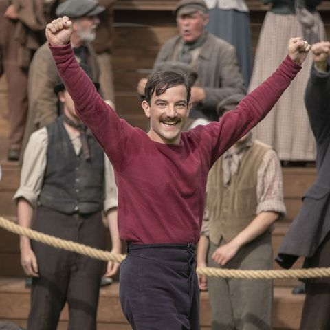 The English Game - Kevin Guthrie as Fergus Suter