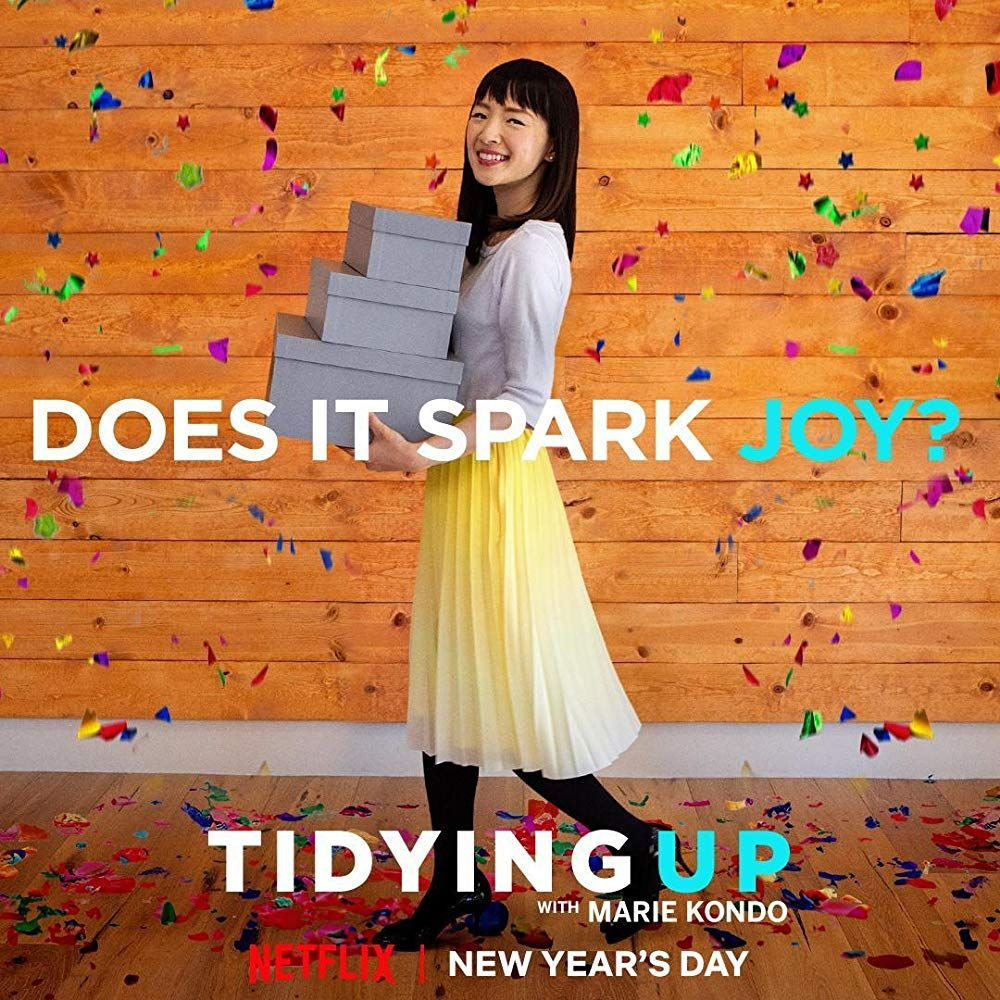 Image result for tidying up with marie kondo netflix