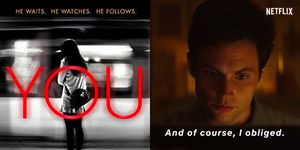 Netflix's new original You is based on a compelling book of the same name