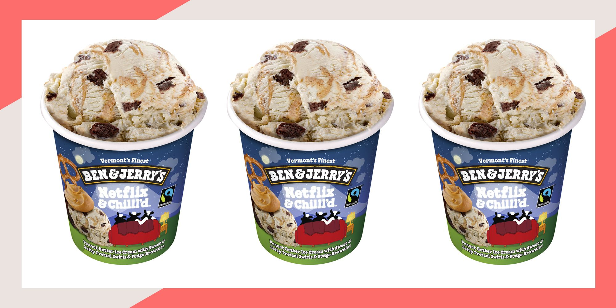 Ben & Jerry's have launched a delicious new 'Netflix & Chilll'd' flavour