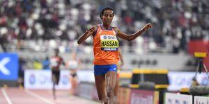 Sifan Hassan, campeona mundial de 10.000m, Doha 2019