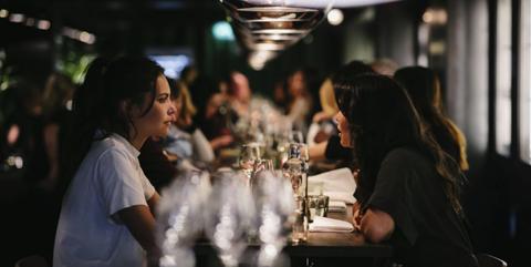 Netwerken, Envy, Young Urban Professional diners