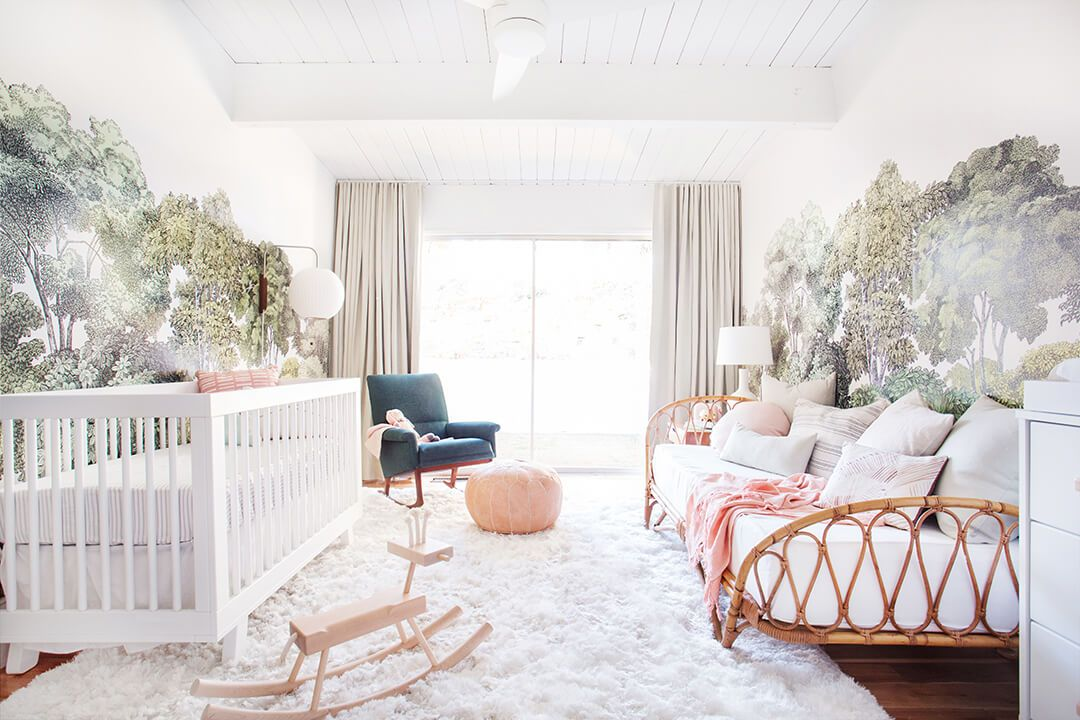 12 cute nursery decorating ideas baby room designs for chic parents rh housebeautiful com how to decorate child room how to decorate a child's room for christmas