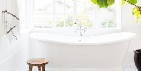 Room, Green, Property, Interior design, Furniture, Bathroom, Wall, House, Floor, Houseplant,