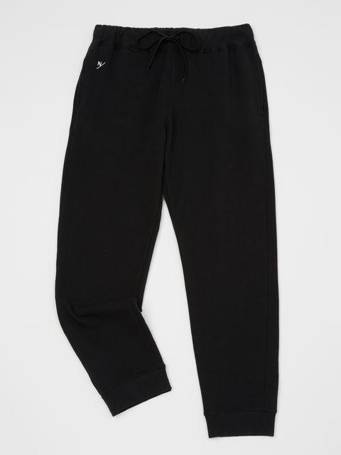 Clothing, Black, Trousers, sweatpant, Active pants, Sportswear, Pocket,