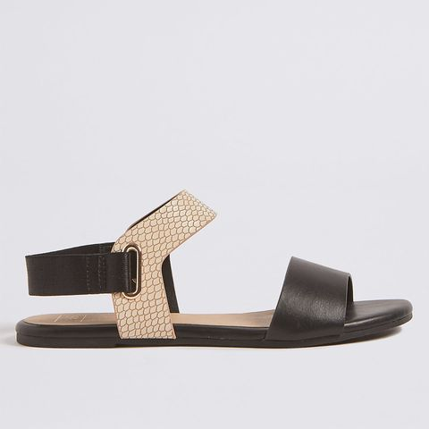 591a7ee60 ... Collection Elastic Ring Detail Sandals (£19.50). image. M S.  Advertisement - Continue Reading Below. image