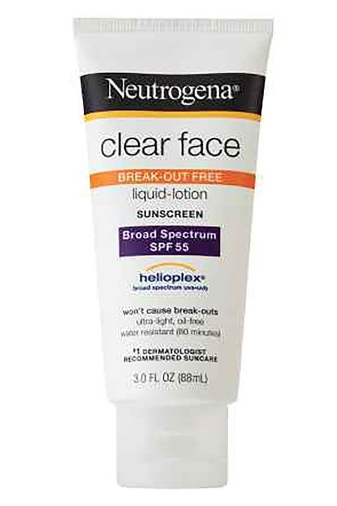 neutrogena clear face lotion