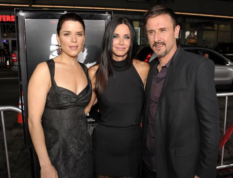"""World Premiere Of The Weinstein Company's """"Scream 4"""" Presented By AXE Shower - Red Carpet"""