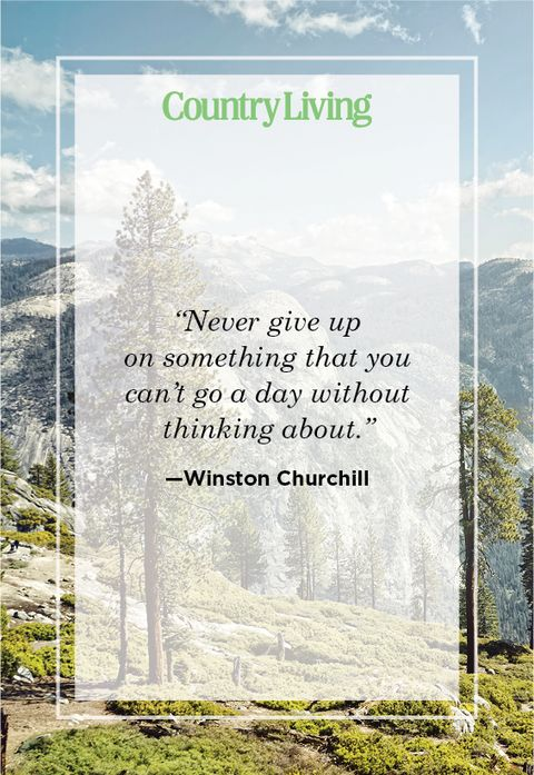 Never give up quote by Winston Churchill