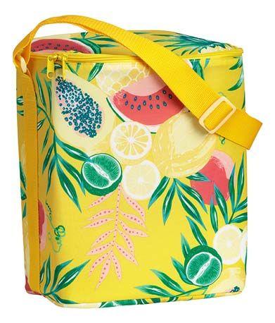 Nevera portátilfrutas tropicales H&M colección verano 2018