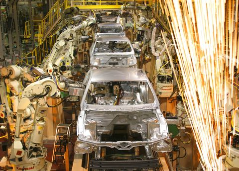 Ford Mustang Plant