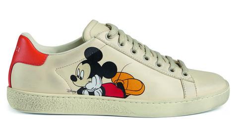 GUCCINEW ACE系列 米奇休閒運動鞋,NT. 28,700