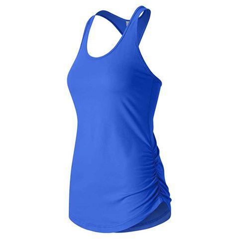 Clothing, Sportswear, Cobalt blue, Active tank, Sports uniform, Blue, Aqua, Electric blue, Turquoise, Sleeveless shirt,