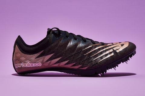 Footwear, Shoe, Purple, Pink, Magenta, Athletic shoe, Outdoor shoe, Still life photography, Sneakers,