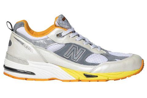 Shoe, Footwear, Running shoe, Outdoor shoe, White, Athletic shoe, Orange, Walking shoe, Product, Cross training shoe,