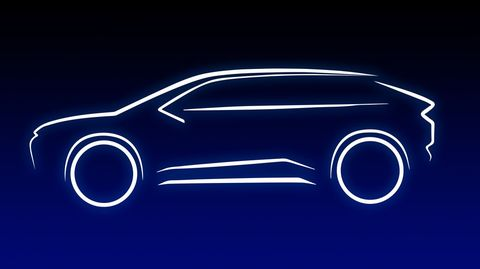 toyota sketch of european ev