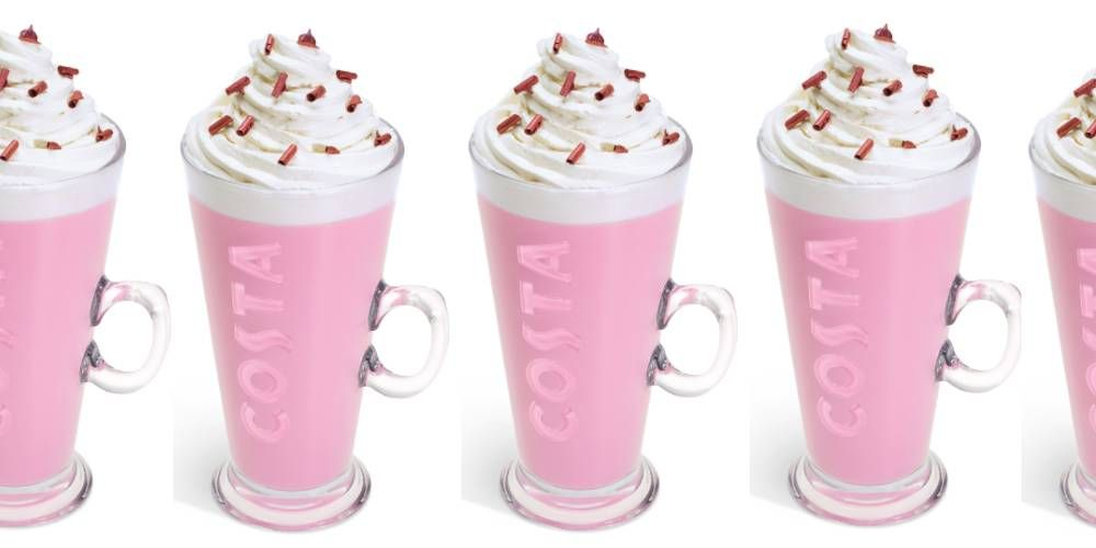Costas New January Menu Is Here Featuring A Pink Hot Chocolate