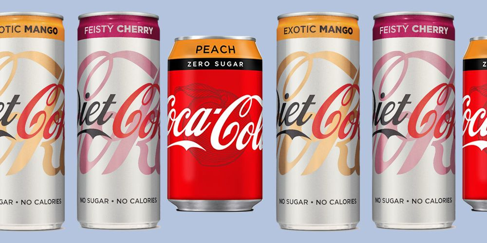 Diet Coke are launching Feisty Cherry and Exotic Mango flavours in the UK!