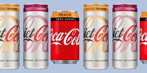 Diet Coke are launching Feisty Cherry and Exotic Mango