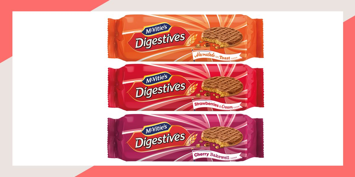 McVitie's unveil three new limited-edition Digestive flavours