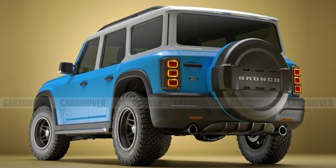 View Photos of the 2021 Ford Bronco