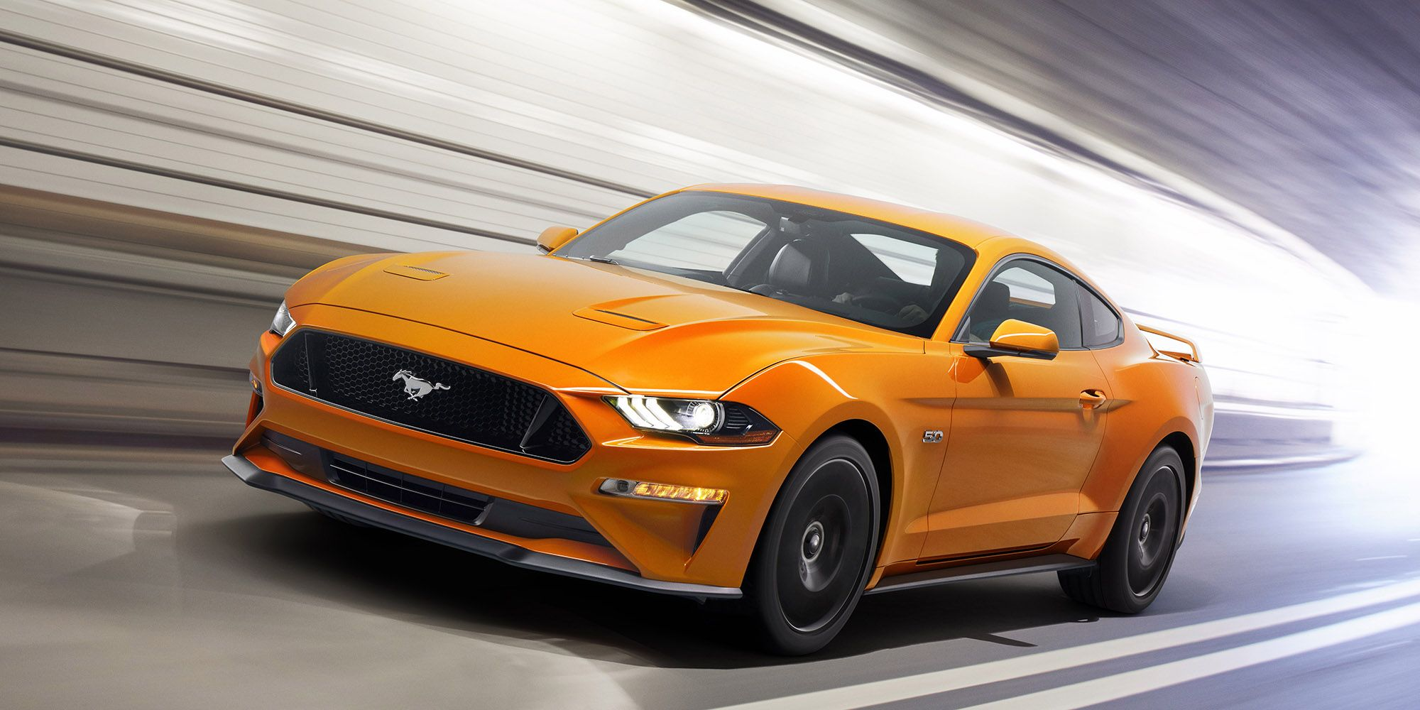 The 2018 ford mustang gt has 460 hp hits 60 mph in under 4 0 seconds