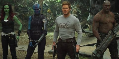 guardians of the galaxy cast