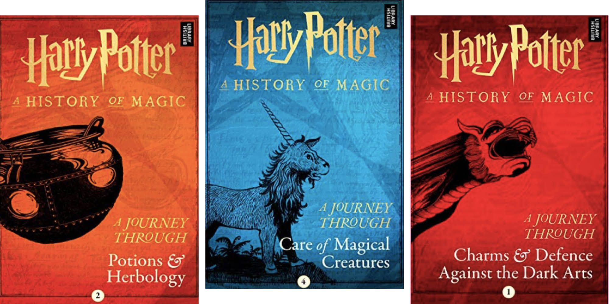 Jk Rowling Is Releasing 4 New Harry Potter Books Next Month