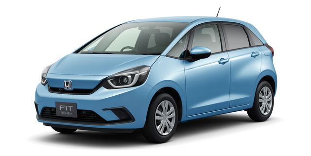 2020 Honda Fit Gets Facelift And Two Motor Hybrid Powertrain