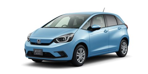 See Photos of the New Honda Fit