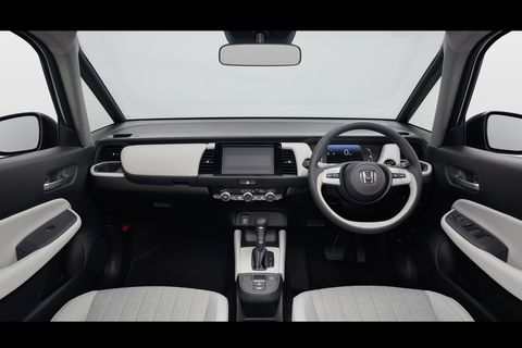 Land vehicle, Vehicle, Car, Center console, Family car, Concept car, Steering wheel, Vehicle audio,