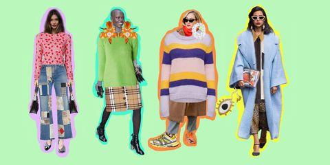 Clothing, Yellow, Fashion, Street fashion, Outerwear, Textile, Fashion design, Fashion illustration, Illustration, Costume,
