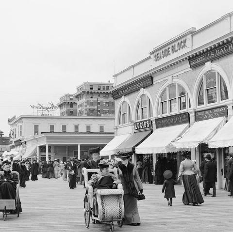 new jersey boardwalk photos 1905