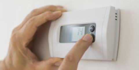 settings on air conditioning thermostat