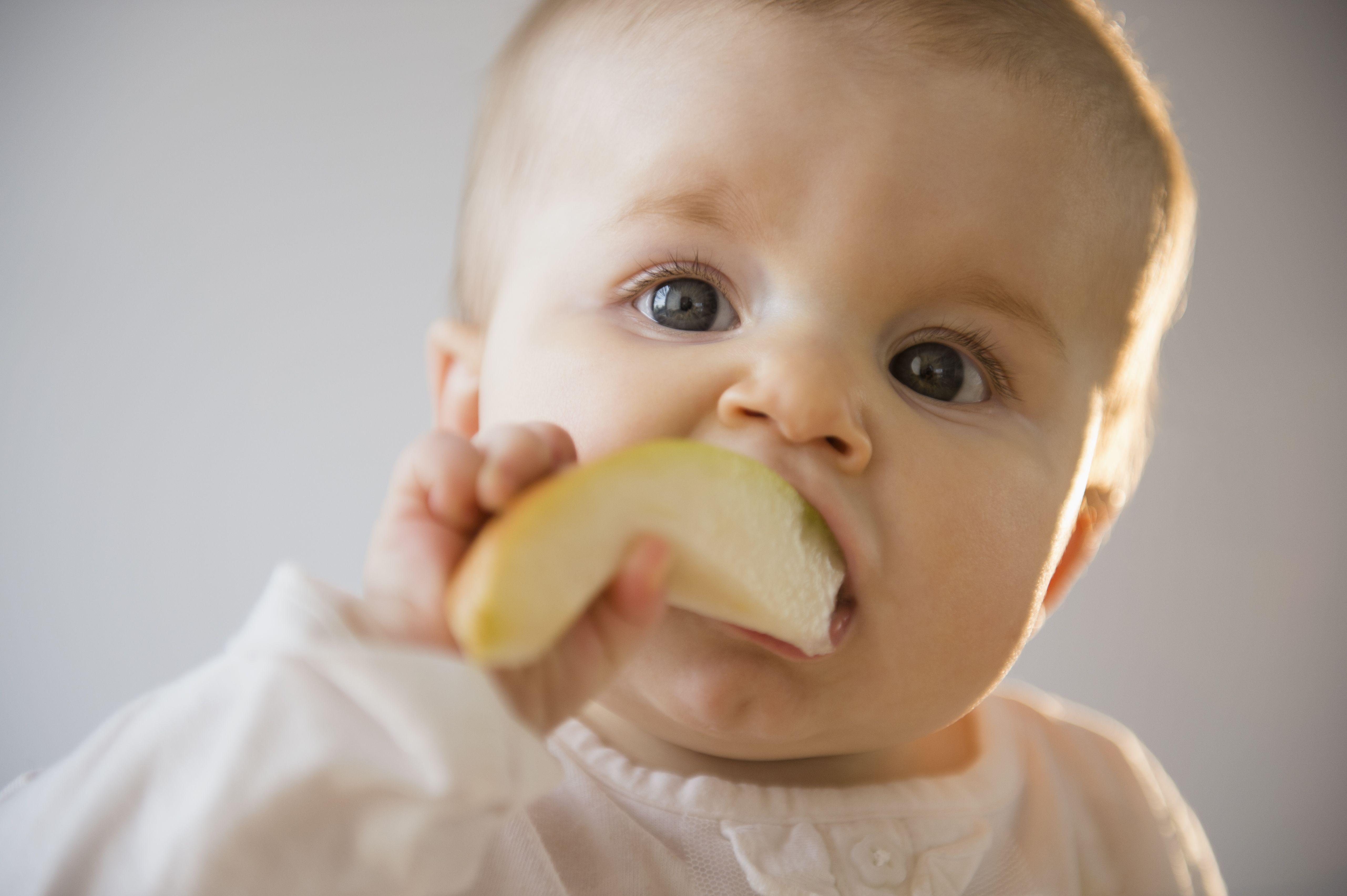 papillas de frutas para bebes de 5 meses