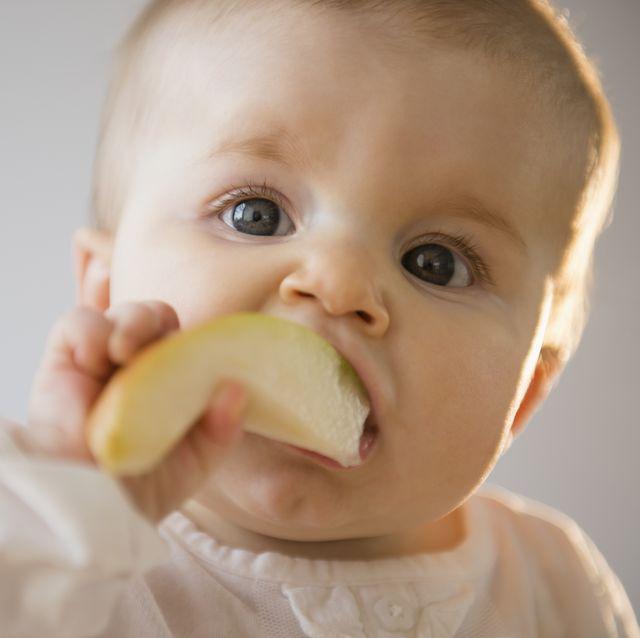 empezar a dar fruta al bebé