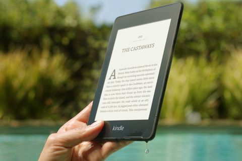 Amazon Kindle Paperwhite e-reader preview