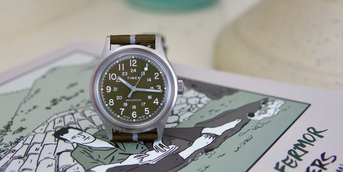 Timex Returns to Its Mechanical Roots with the Mk1