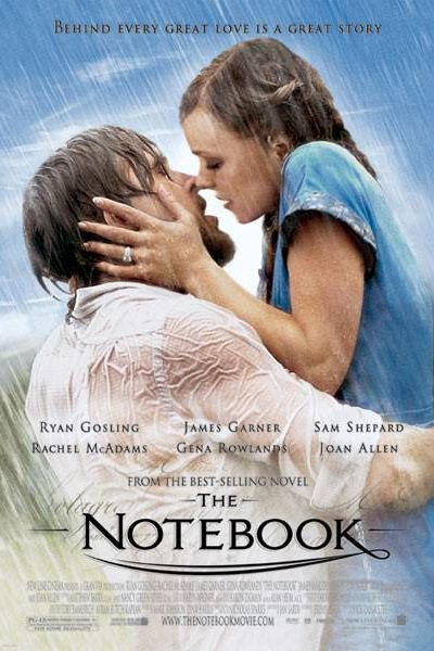 the notebook chick flick