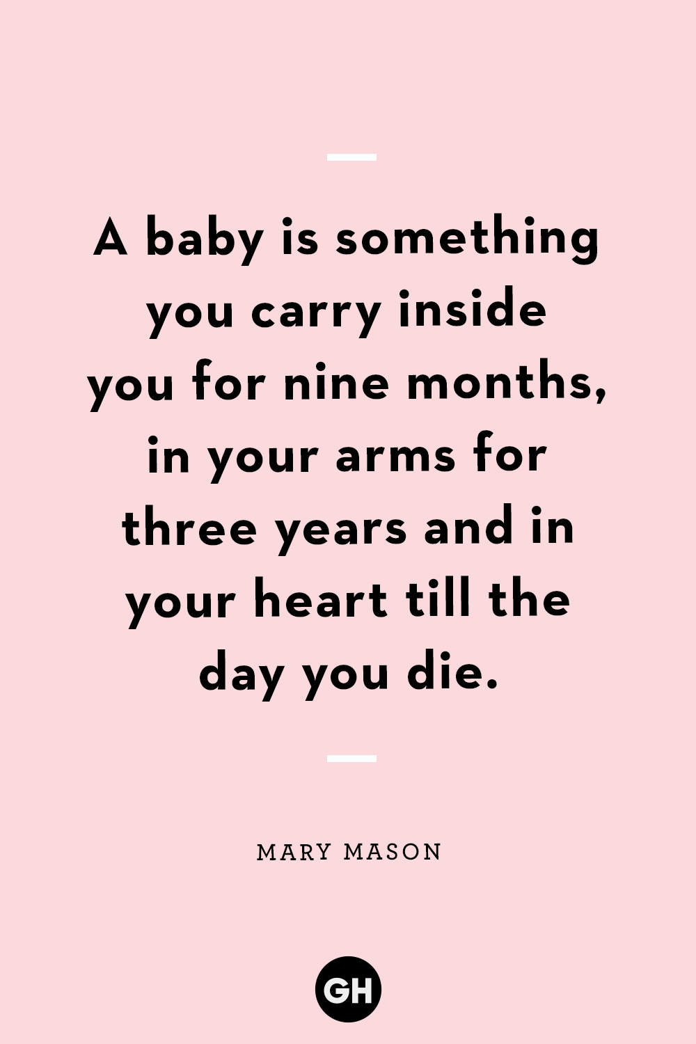 11 Best New-Mom Quotes - Wise Sayings for First-Time Parents