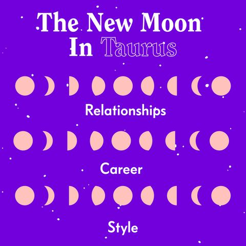 New Moon In Taurus May 2019 - Your Horoscope and What It Means